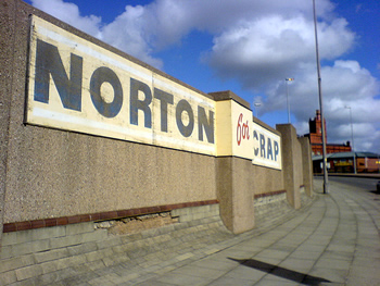 Norton's scrap yard in Liverpool