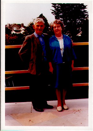 My grandparents, Tom and May in later life
