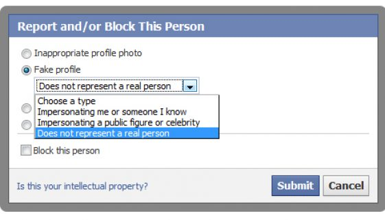 Fake profiles on Facebook…