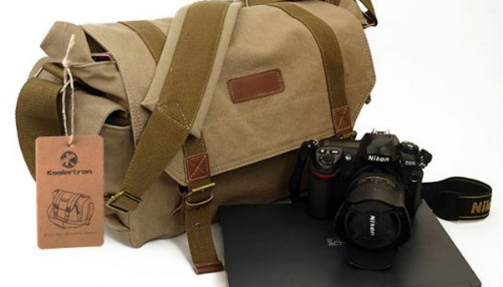Canvas camera bag review