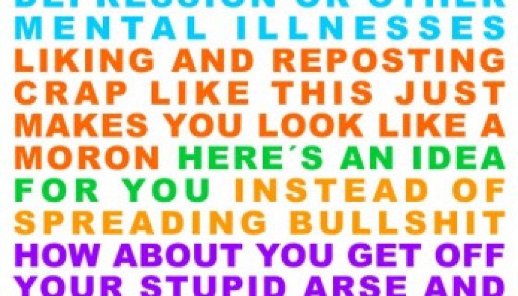 Stop being a jerk on Facebook!